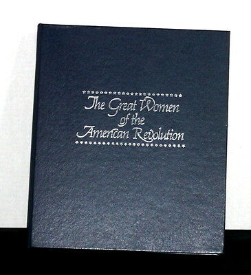 THE GREAT WOMEN of the AMERICAN REVOLUTION 36 PEWTER MEDALS FRANKLIN MINT