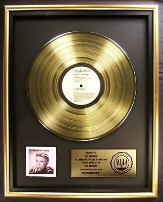 David Bowie Changesonebowie LP Gold RIAA Record Award RCA Records XMAS SALE