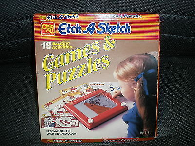 Ohio Art Etch A Sketch  Activities Games and Puzzles No. 516