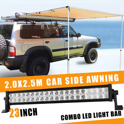 50inch 1480W Cree LED Curved Light Bar Spot Flood Combo Work Driving 4WD