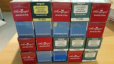 Argus Airequipt Automatic Slide Changer Magazine holds 36 Lot of 20