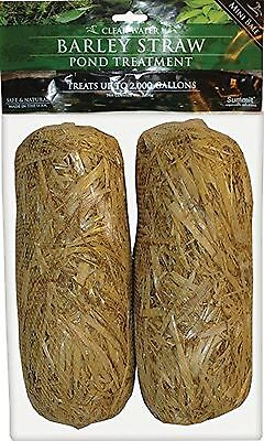 Summit Chemical Co 130 Clear-Water Barley Straw Bales 2-Pack 2Pack