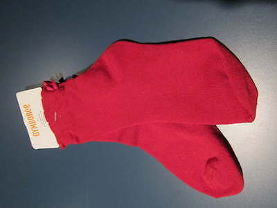 Gymboree Nwt Red Christmas Holiday Thick Ankle Bow Socks Girl Sz 3 4 Fit 5 6 7 8