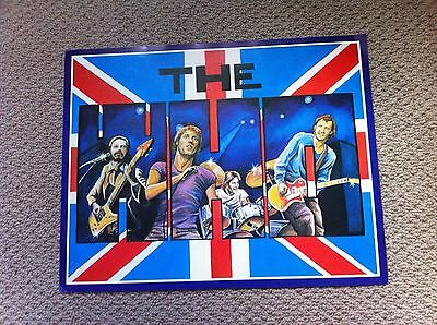 The Who Vintage Poster 15 X 20 Inches