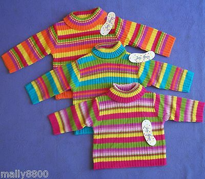 Girls - Jelly Beans - Knit - Skivvy / Jumper - Size 00,