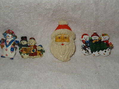 Vintage Lot of Holiday pins brooches Very Cute