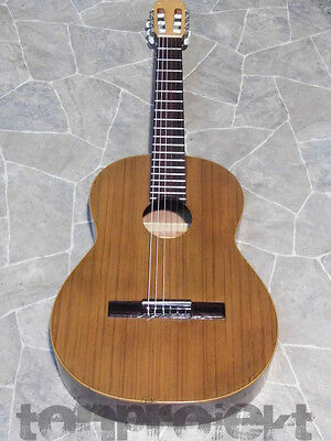 vintage Walter E. SANDNER 4/4 Classical Guitar Guitar Gain Germany