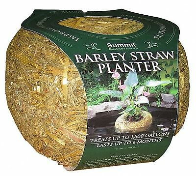 Summit Chemical Co 1139 Clear-Water Barley Straw Planter Treats upto 1500-Gal...