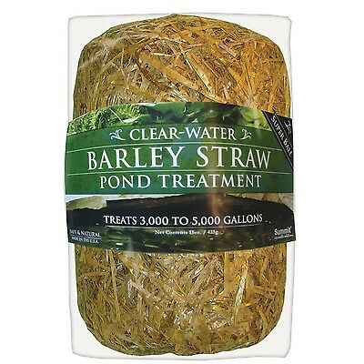Summit Chemical Co 135 Clear-Water Barley Straw Bale Treats upto 5000-Gallons