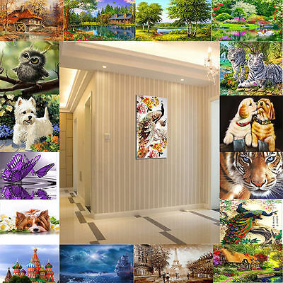 NEW 5D DIY Mulit-style Diamond Painting Cube Diamonds Embroidery Home Decoration
