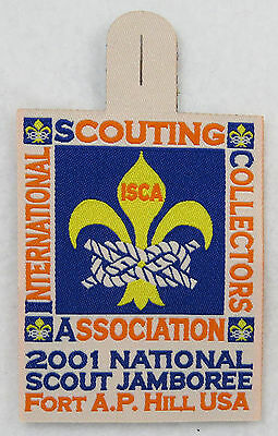 ISCA 2001 National Boy Scout Jamboree Woven Patch [CJ1608]