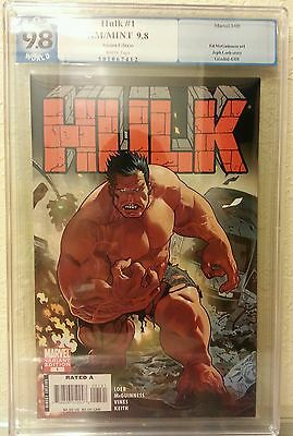 RED HULK CGC 9.8 #1 VARIANT First appearance of Red Hulk 2008