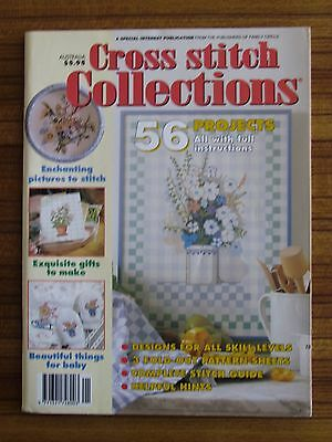 Cross Stitch Collections - 56 Projects Kitchen Baby Herbs Fruit Cars Trucks