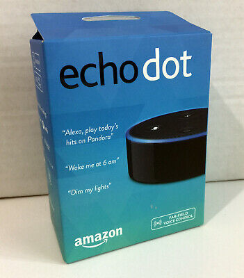 Amazon Echo Dot 2nd Generation w/ Alexa Voice Media Device - 2nd Gen - BRAND NEW