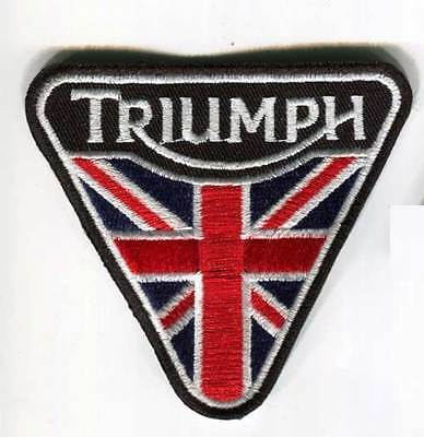 Triumph Motorcycles Triangolo Inghilterra Patch (Pwp006)