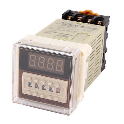 DH48S-2Z AC/DC 24V 0.01S-9999H 8-Pin Adjustable Time Delay Timer Relay