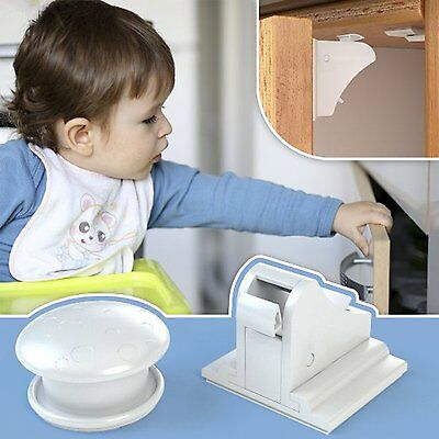 UNIFUN Magnetic Cabinet Drawer Cupboard Locks for Baby Kids Safety Child Proof