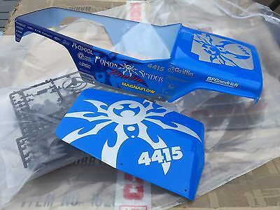 Axial Wraith Poison Spyder Body Panels NEW UNPACKAGED AX04040
