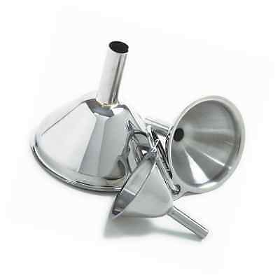 Norpro Stainless Steel Funnel, Set of 3