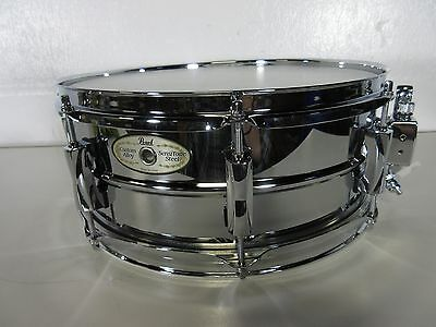 "Pearl SensiTone Snare Drum 14 X 5.5"" Steel Shell w/ Chrome Plating SS1455S/C"