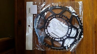 Rotor Q Ring - Road Aero Outer - Black - 110 52T - Brand New