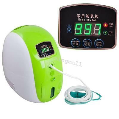 Health Full Intelligent Oxygen Concentrator Generator 40%-90% Car/Home Care 2017