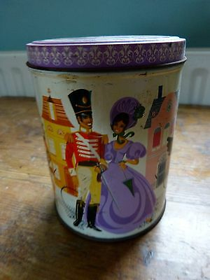 Vintage Quality Street Tin Lady And Soldier