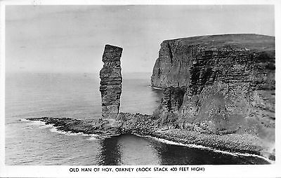 BR62981 old man of hoy orkney real photo   uk