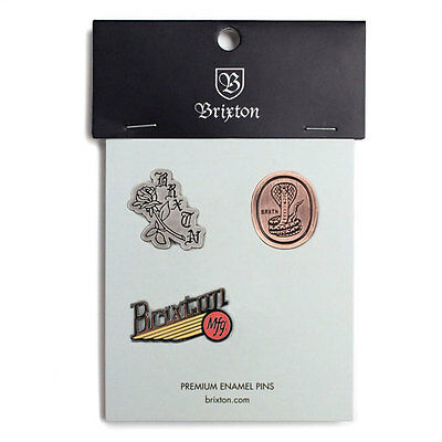 Brixton Pace Pin Badge Pack Accessory/Clothing