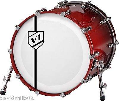 Vinyl Logos Custom Initials Sign Decals Stickers for Band Bass Drums