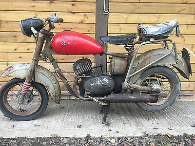 ISO moto 125cc classic motorcycle barn find project