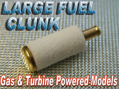 Large Fuel Clunk with filter for Gas/Turbine powered models (1pc)