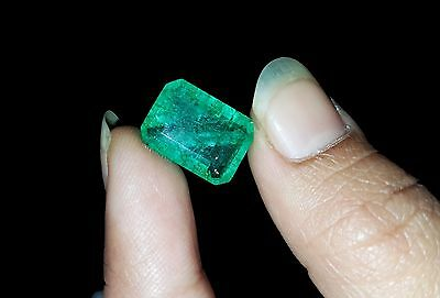 Decent & Natural Muzo Certified Colombian Emerald Gems 7.20 Ct CHRISTMAS OFFER !