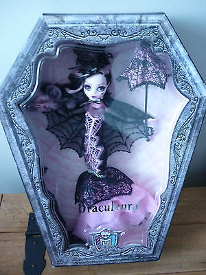 Monster High Draculaura Collector Collector's Edition Deluxe Doll UK SELLER