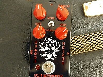 Handwired Guitar Effects Overdrive Distortion Fuzz Pedal 2015 OD