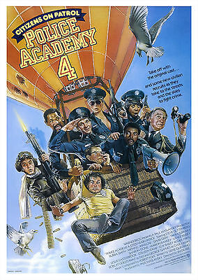 Police Academy 4: Citizens on Patrol (1987) - A1/A2 POSTER **SEE OFFER**