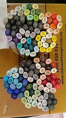 Copic Sketch Markers - 135 Colours - No Doubles - Brand New