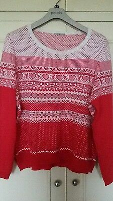 womans Christmas jumper size 20