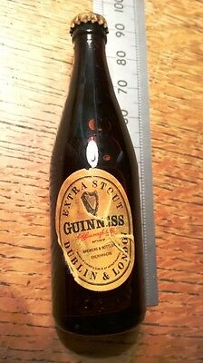 Minature bottle of Guiness stout Old and Collectable NEW