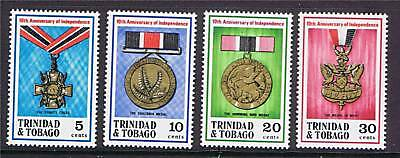 Trinidad & Tobago 1972 Anniv of Independ. SG417/20 MNH