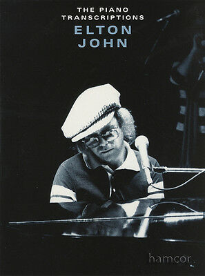 The Piano Transcriptions Elton John Sheet Music Book