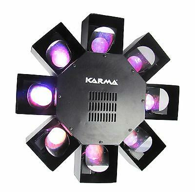 Karma DJ DISCO - Light effect from the track center to 120 LEDs, 405x405x228 mm
