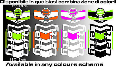 LEFTY CANNONDALE ADESIVI stickers aufkleber autocollant WELCOME INT. BUYERS