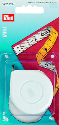 Prym Mini Roller tape measure 150 cm long with cm scale 282209