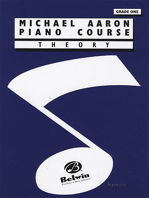 Michael Aaron Piano Course Theory Grade 1 Music Book