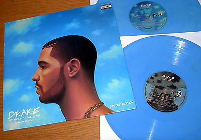 DRAKE - NOTHING WAS THE SAME - Blue Vinyl Double LP