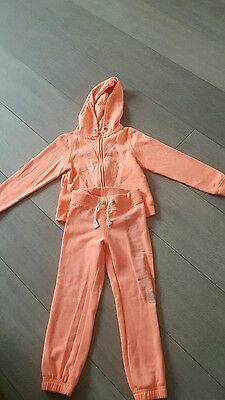 girls orange tracksuit
