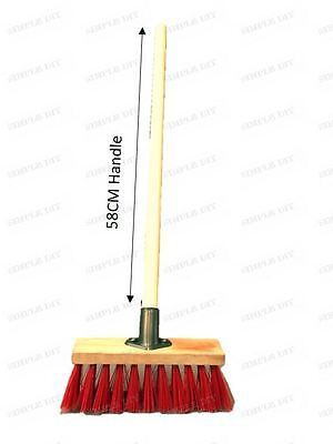 Traditional Wooden Childrens Sweeping Brush Broom Cleaning Set Good Quality