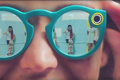 Snapchat Spectacles TEAL Glasses New Unopened - Expedited Shipping Worldwide