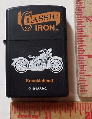 Vintage Harley Knucklehead lighter collectible old HD motorcycle memorabilia